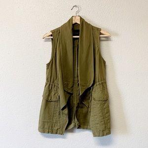 Sanctuary Olive Utility Vest